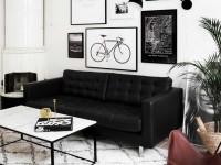Черная мебель – виды оттенка, стильное сочетание и дизайн (106 фото-идей)