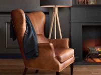Кожаное кресло – 110 фото стильных современных и классических вариантов для дома и офиса