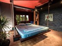 Подвесная кровать – характерные особенности конструкций и виды креплений. 102 фото подвесной кровати в дизайне интерьера