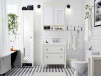 Шкаф в ванную – расположение стеллажа, лучшие материалы и применение зеркал (116 фото)