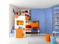 Стеллаж в детскую – правила выбора, зонирование пространства и обзор разных конструкций (88 фото)