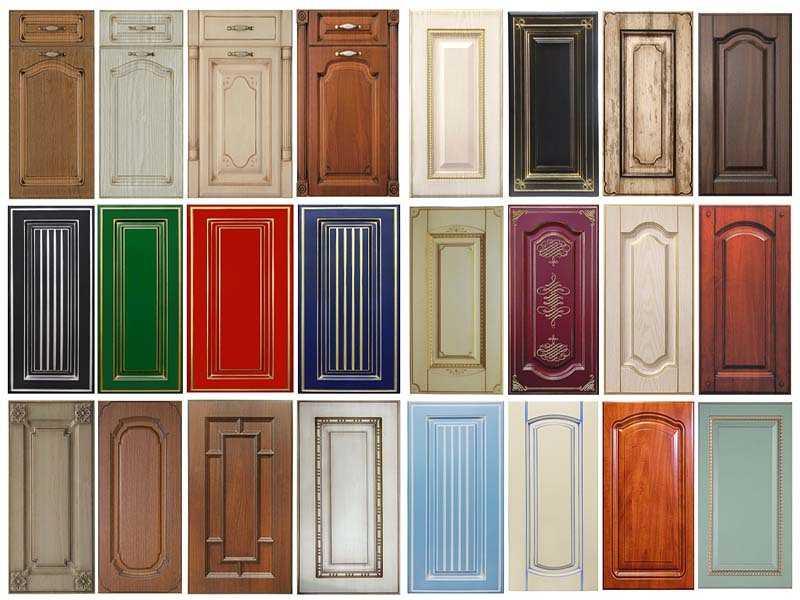 Кухонные фасады – обзор лучших новинок, инструкция как выбрать, материал, советы от профи!