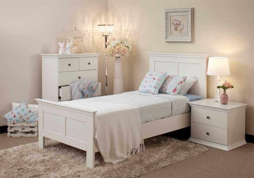 фото спален с белой мебелью какие признаки следует