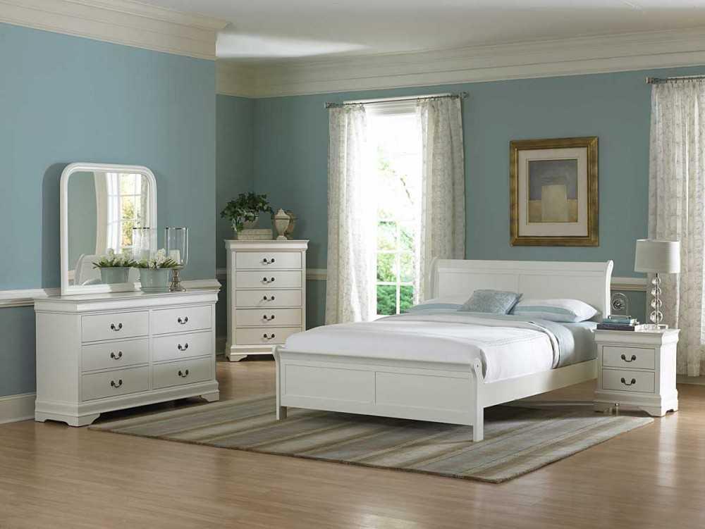 Спальня белая картинки