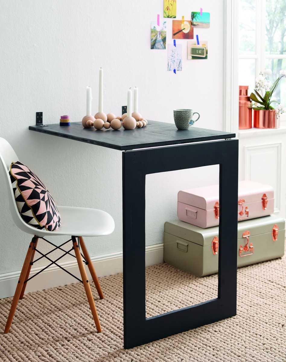 Складной стол – как сделать многофункциональную мебель своими руками? 116 фото-идей