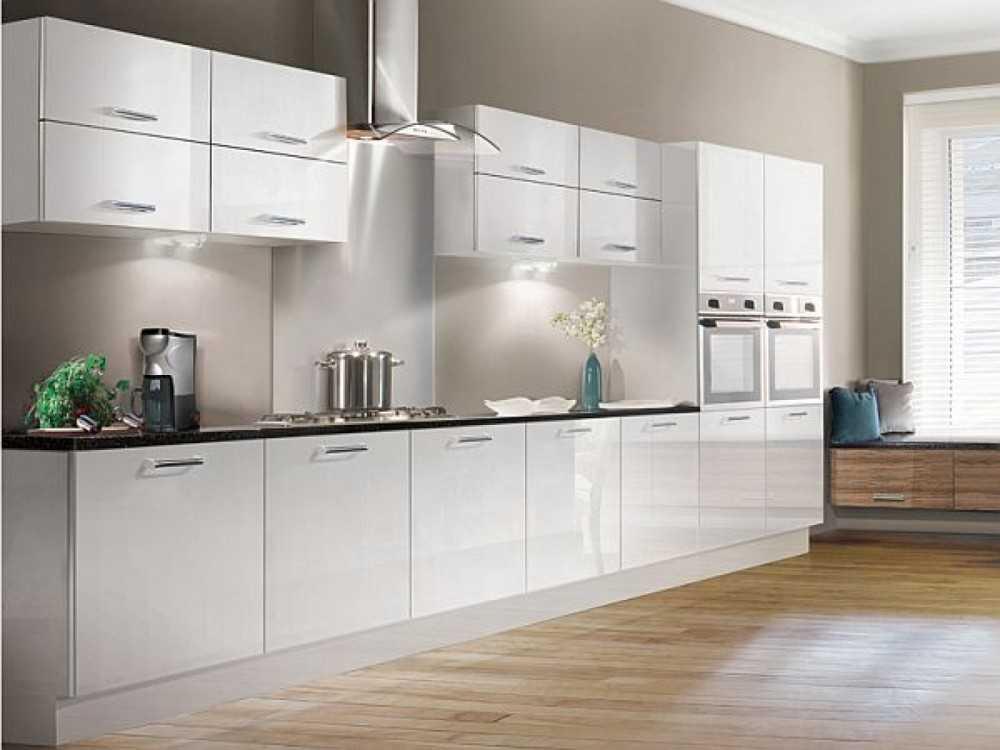 все дизайн кухонного гарнитура белый глянец фото дизайн деревенских штор