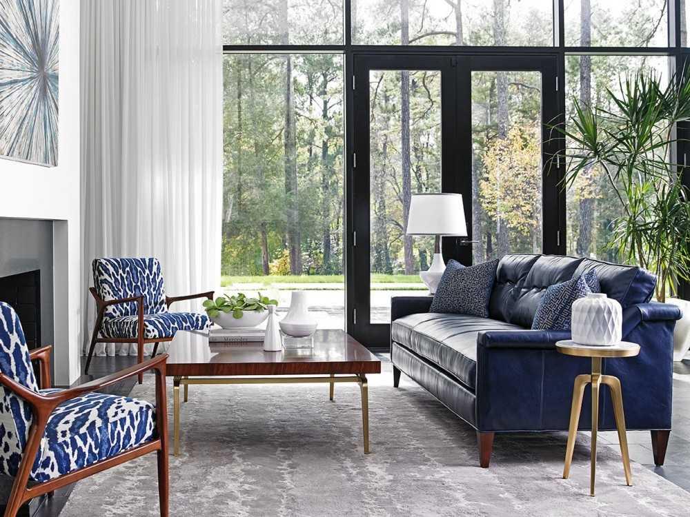 Кожаный диван - современные модели, обивка и наполнитель (103 фото)