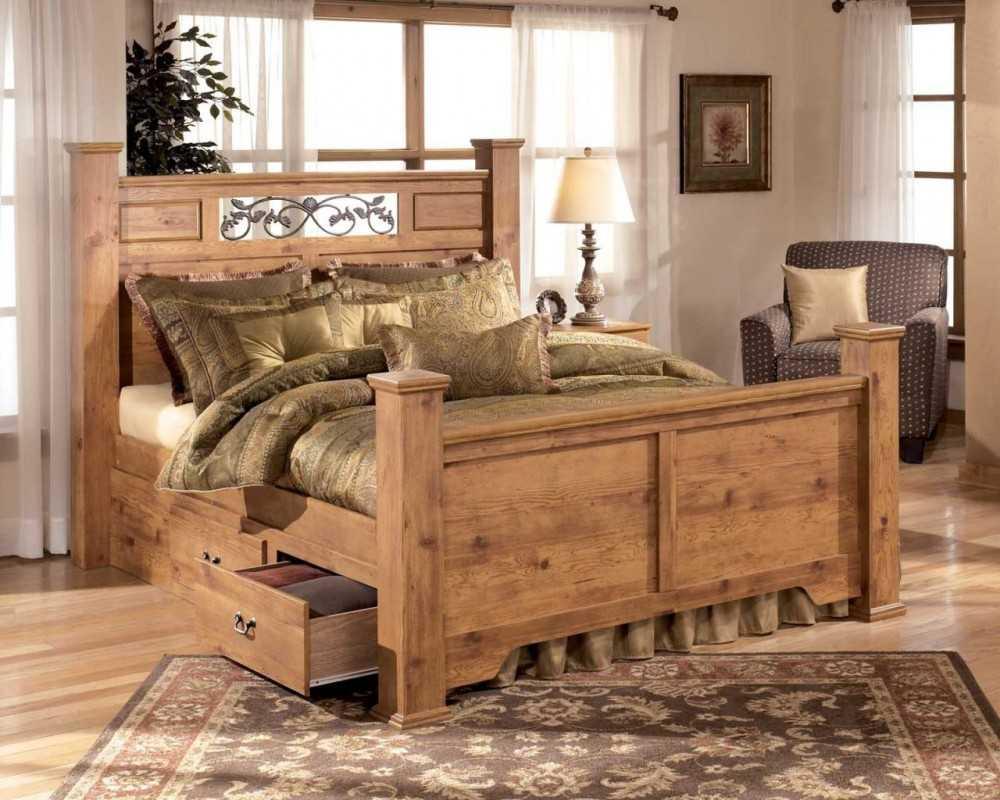 кровати двуспальные для деревянного дома фото дольше