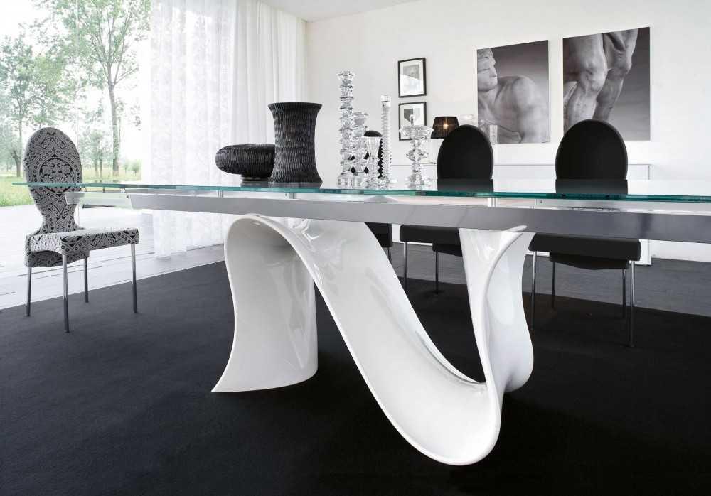 Пластиковый стол - преимущества и недостатки использования пластика в интерьере. 105 фото современных форм