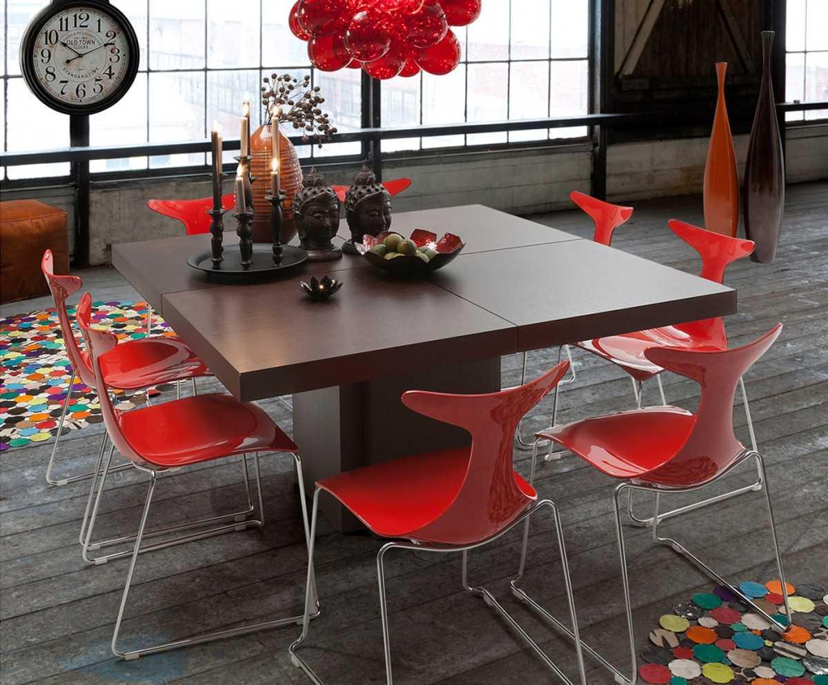 Раздвижной стол: как сделать правильный выбор стильного дизайна. 113 фото в интерьере + советы по выбору.