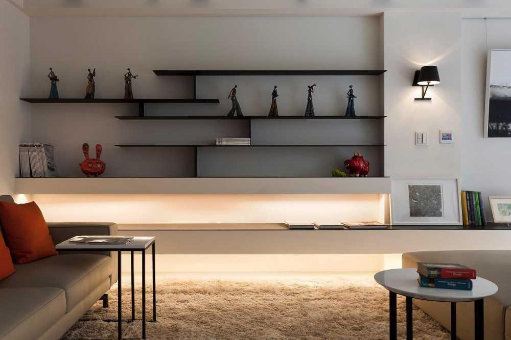 Полки в гостиную — 120 фото стильного оформления, а также идеального сочетания в интерьере