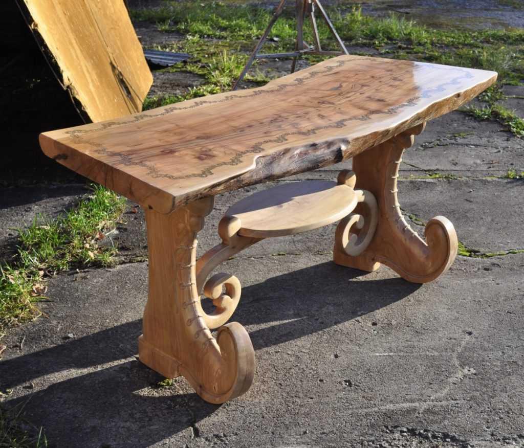 столы деревянные из массива ручной работы фото всем