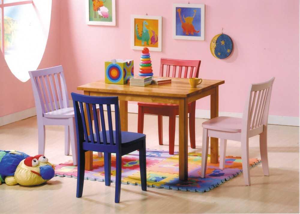 Стол в детскую комнату (103 фото) - требования к качеству, проблемы выбора и виды мебельных групп