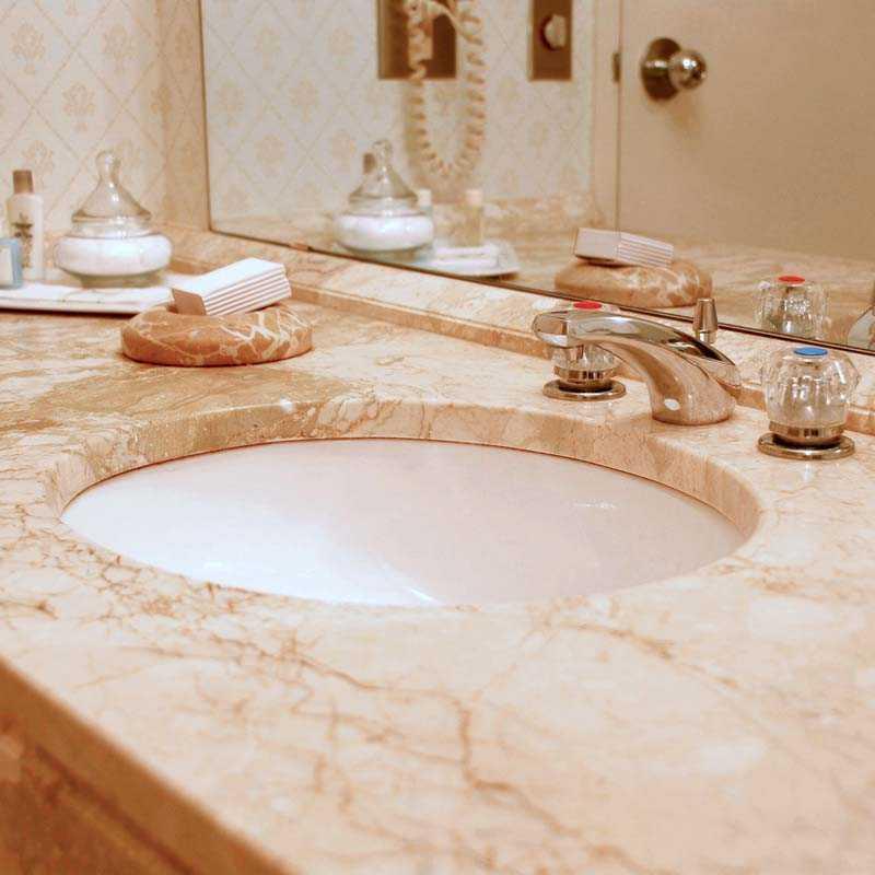 Столешница в ванную - современный подход и проблема выбора. 79 фото встроенных и комбинированных вариаций