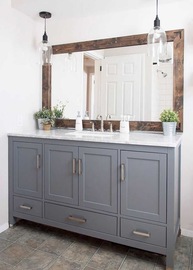 Зеркало в ванную - особенности выбора разнообразных конструкций. 87 фото современных конфигураций