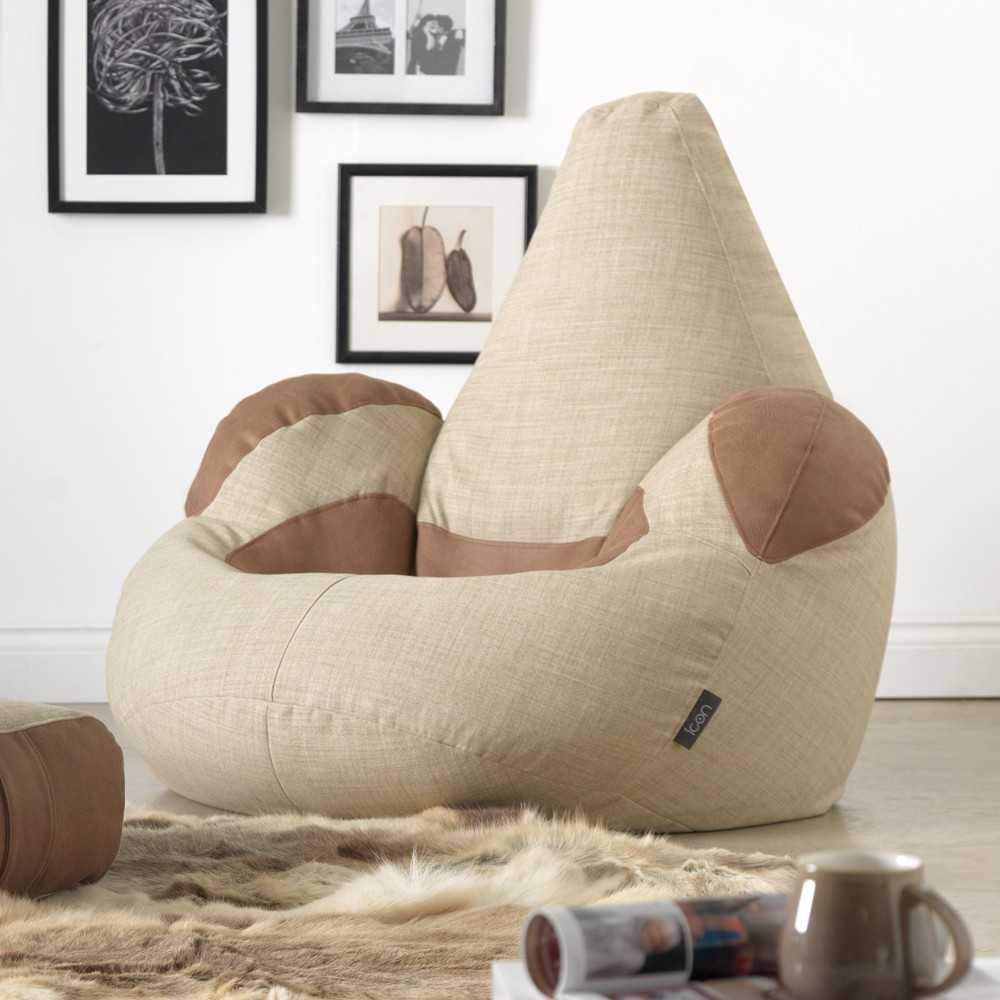 Кресло-мешок: дизайн, размеры, материалы, формы, плюсы и минусы (126 фото-идей)