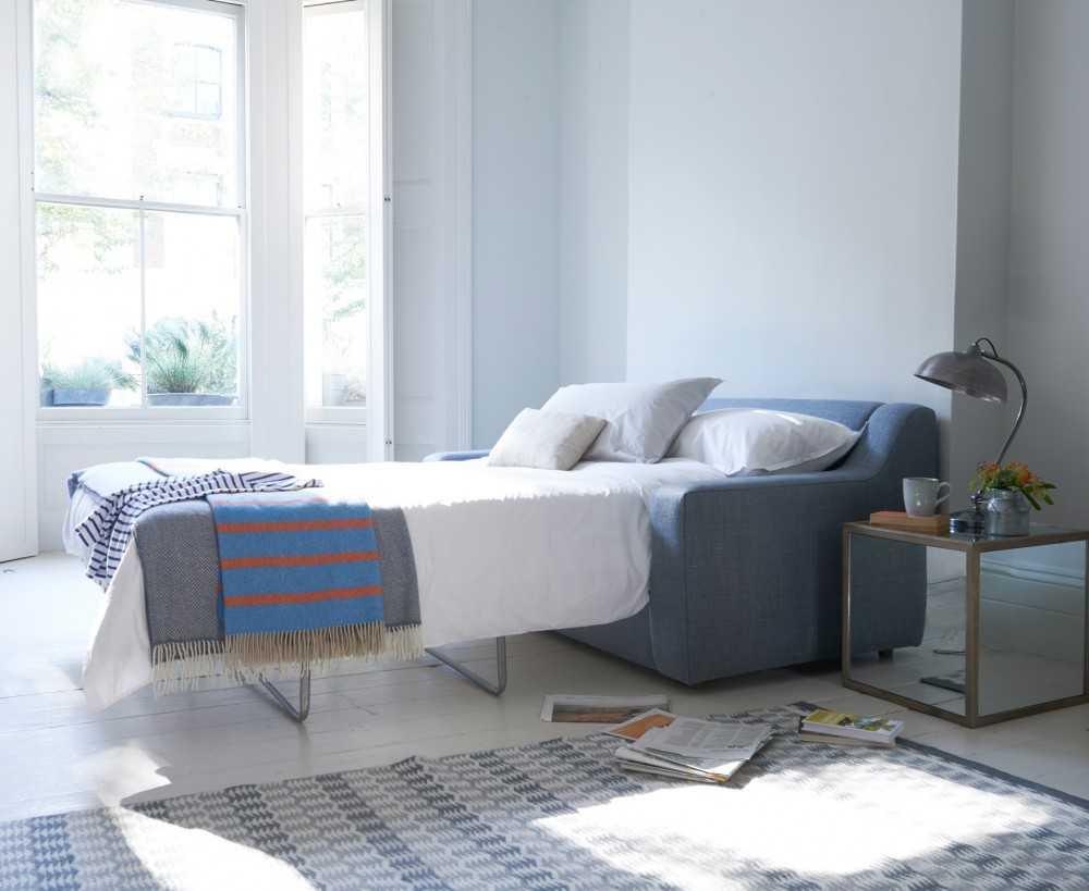Диван-кровать - правила выбора и различные современные модификации (100 фото)