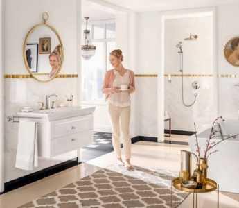 Обустройство ванной комнаты - выполняем по уму! Готовые дизайнерские решения с полным описанием и секретами (100 фото + отзывы)