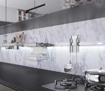 Рейлинги (рейлинговые системы) для кухни - обзор лучших моделей. Виды, материалы, инструкция по монтажу, фото