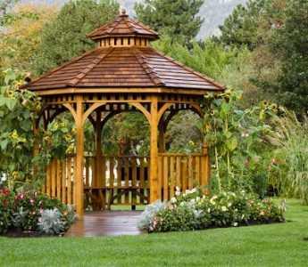Беседки из дерева (130 фото) - лучшие варианты для дачи и сада. Обзор достойных проектов и рекомендации от мастеров
