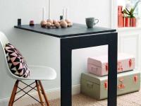 Складной стол — как сделать многофункциональную мебель своими руками? 116 фото-идей