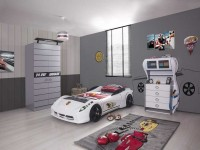 Кровать-Машина: размеры и особенности выбора для детей разных возрастов (109 фото)