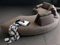 Круглый диван: как правильно решить проблему выбора? 100 фото уникальной мебели в дизайне разных помещений