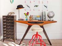 Письменный стол — критерии подбора размеров, варианты эксплуатации и дизайна (115 фото в интерьере)