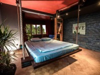 Подвесная кровать — характерные особенности конструкций и виды креплений. 102 фото подвесной кровати в дизайне интерьера