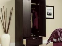 Шкаф для одежды: виды, функциональность, материалы и декорации (106 фото)