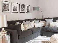 Серый диван — с какими цветами и стилями сочетается диван серого или металлического цвета (120 фото)