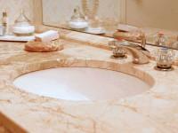 Столешница в ванную — современный подход и проблема выбора. 79 фото встроенных и комбинированных вариаций