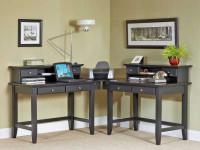 Угловой стол — обзор видов, основных моделей и популярных материалов (90 фото дизайна)