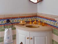 Угловые раковины для ванной — выбор материала и разновидности стильных моделей (101 фото)