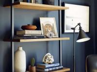 Стеллаж в интерьере — основные типы, декоративные варианты и популярные модели (108 фото)