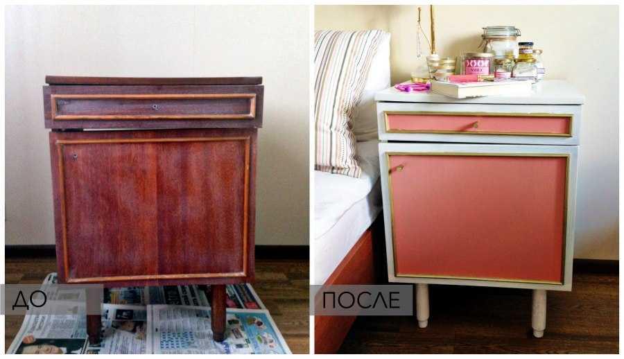 Перекрасить мебель из дсп своими руками