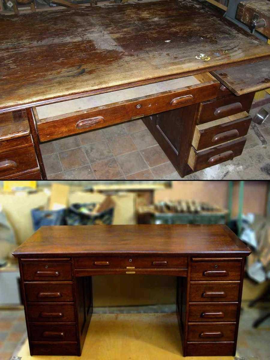 Как отреставрировать старый стол своими руками