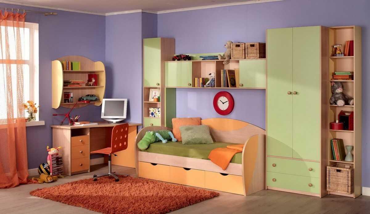 Набор детской мебели — правила подбора цвета, предметов мебели, материалов (94 фото)
