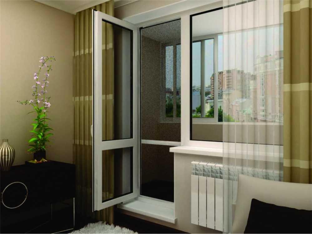 Балконная дверь - выбор функциональной модели лучших торговы.