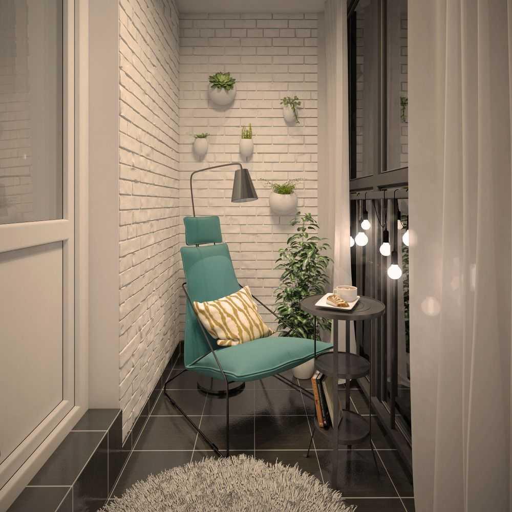 Балкон лофт: трендовые варианты интерьера 70+ идей 2017.