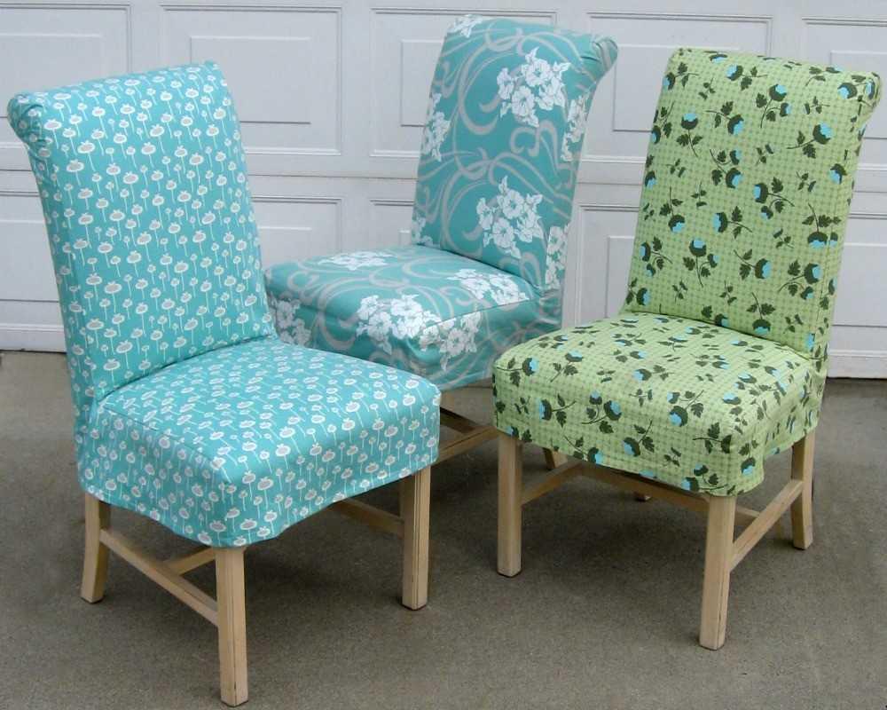 Мягкие чехлы стулья своими руками