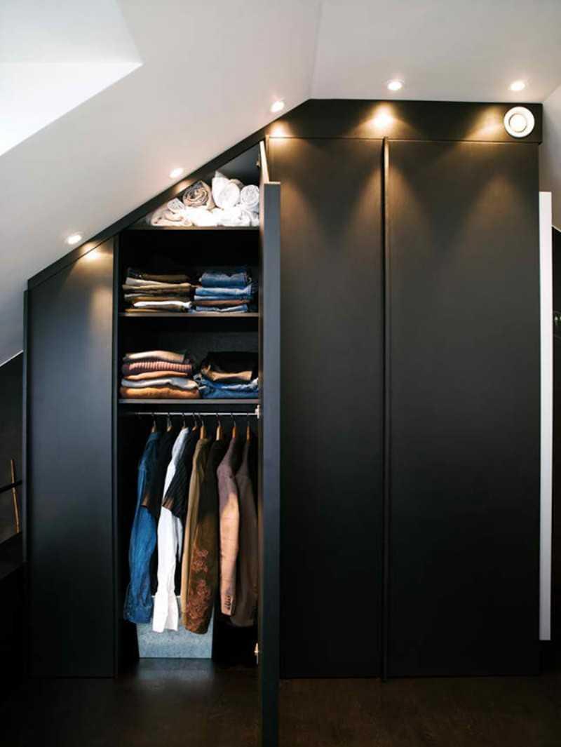 Черный шкаф - лучшие решения стиля и конструкций (78 фото).