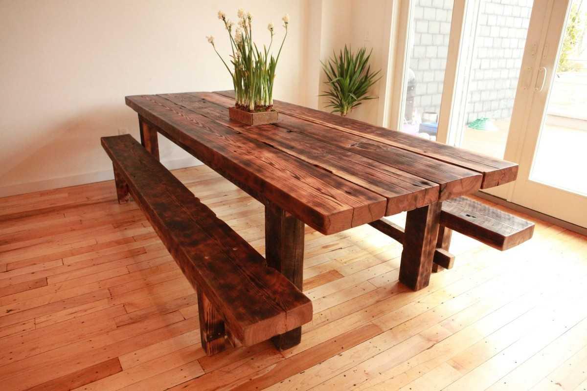 Сделать деревянный стол своими руками фото 671