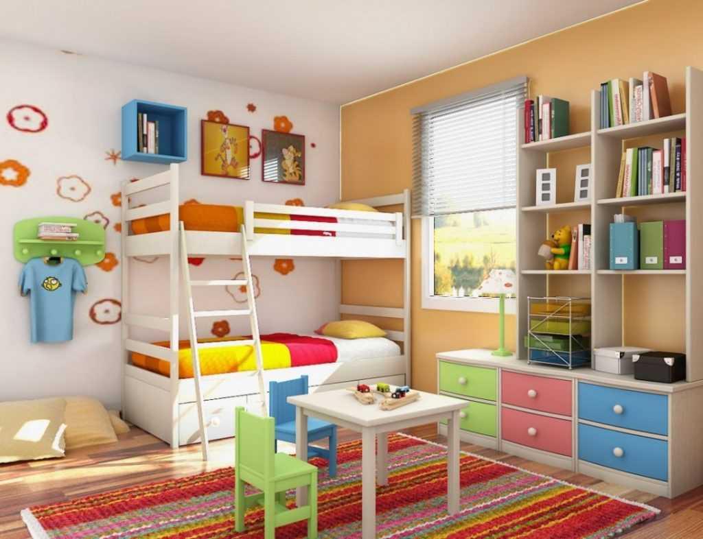 Как сделать детский комнату фото