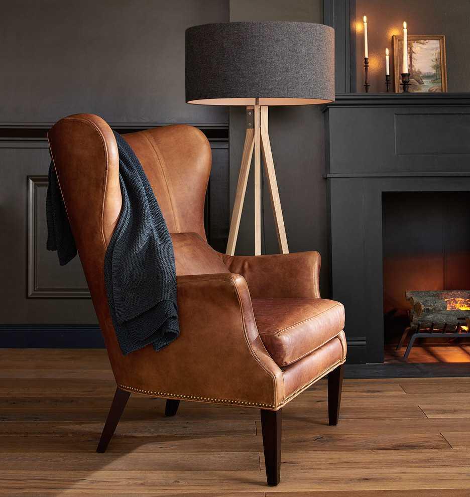 Кожаное кресло — 110 фото стильных современных и классических вариантов для дома и офиса