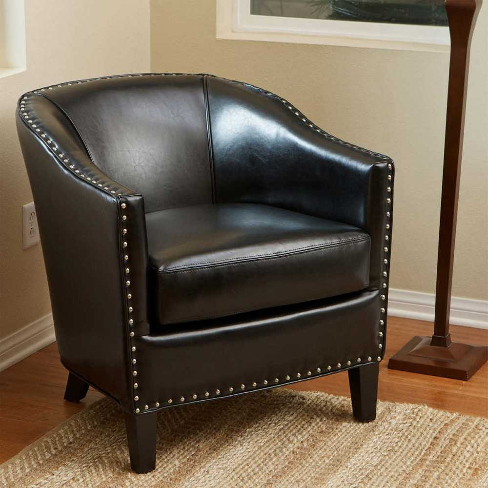Target leather chair