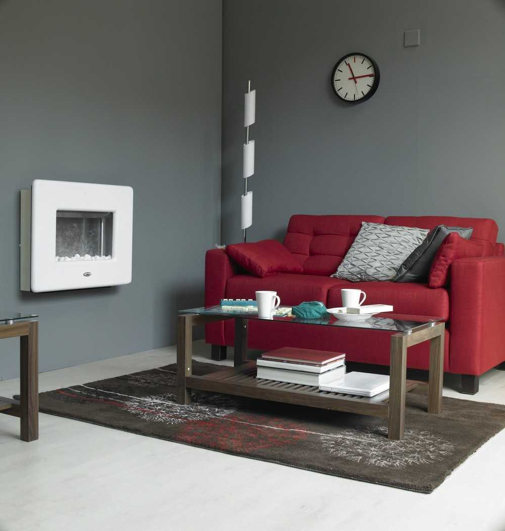 Красный диван: варианты обивок, стильные узоры и использование в современном интерьере (108 фото)