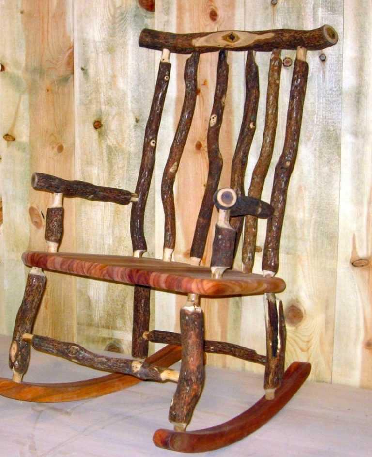 Как сделать кресло-качалка своими рукам 93
