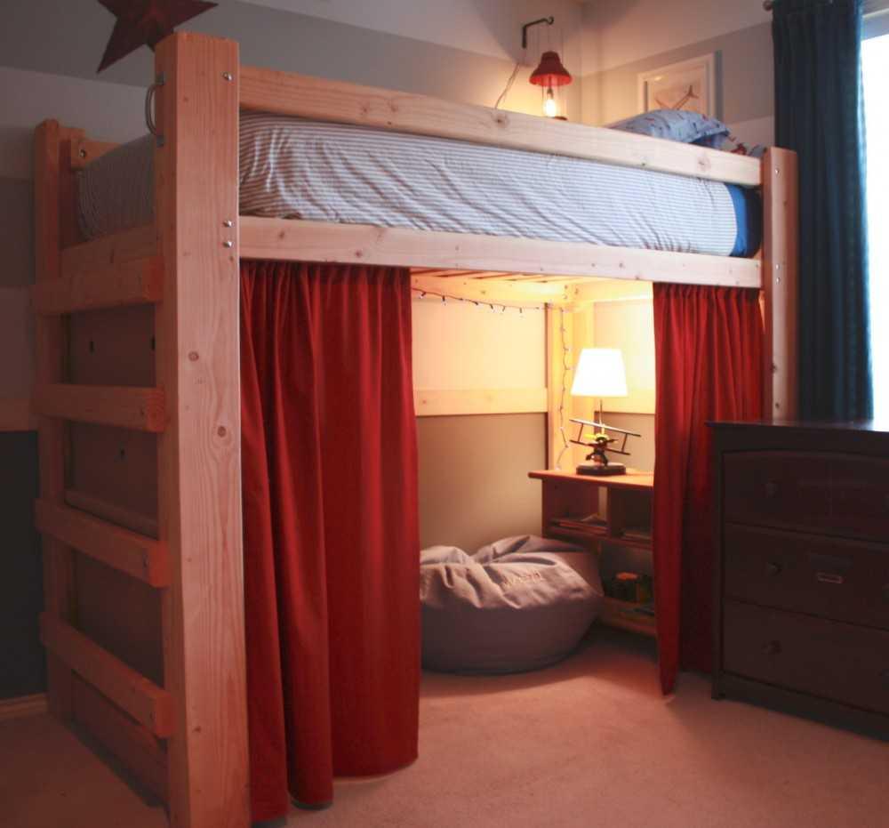 Кровать на втором этаже своими руками фото 461
