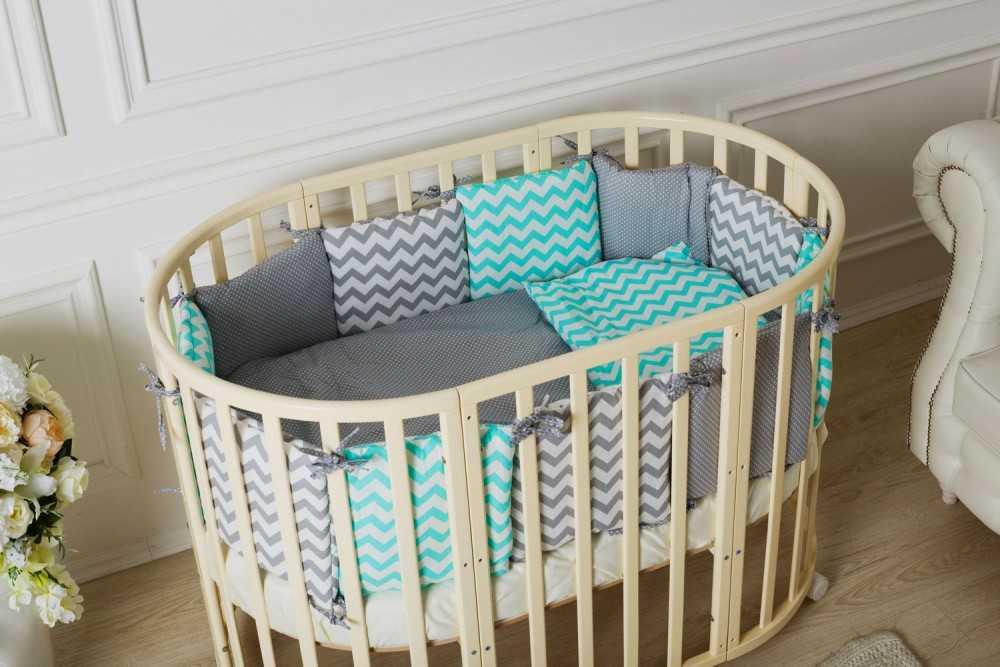 Кроватка круглая или прямоугольная
